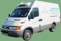 Gallovidian Fresh Foods Ltd Refrigerated Delivery Vehicles